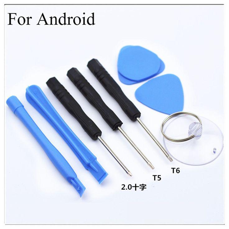 8 dalam 1 alat perbaikan ponsel kit pintar ponsel membuka pry obeng set untuk iphone android