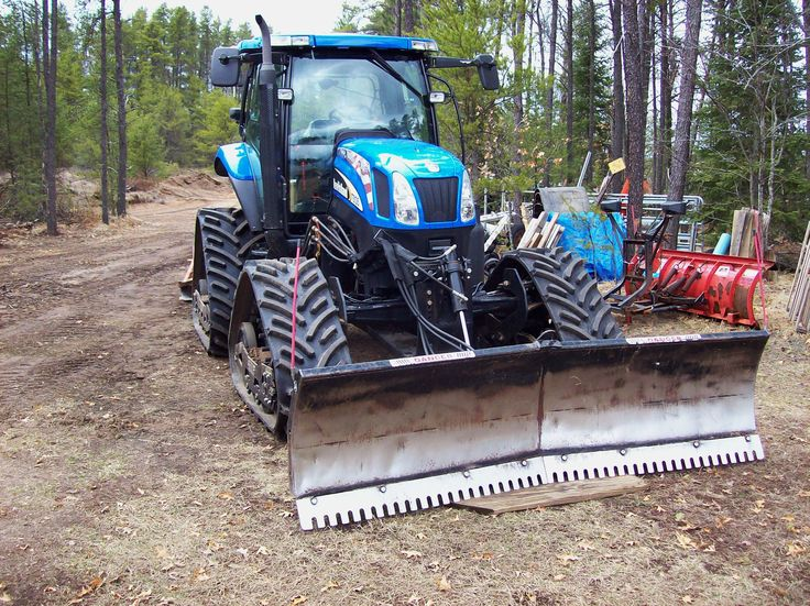 how to use a rear blade on a tractor