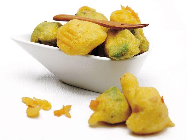 Fritto di broccoli e cavolfiori in pastella croccante