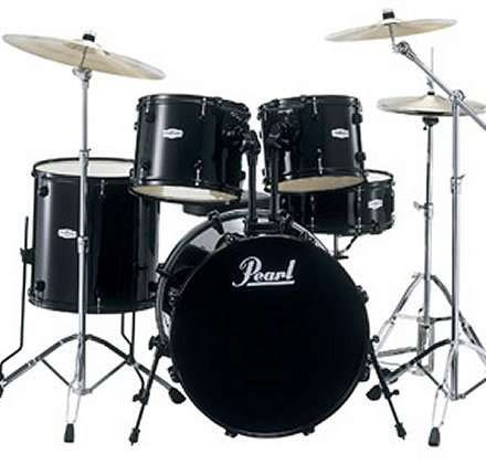"Pearl Drum Kit - We have this pearl kit for rental. 22""bass, 8"", 10"", 12"", 13"" 14"", and 16"" toms"