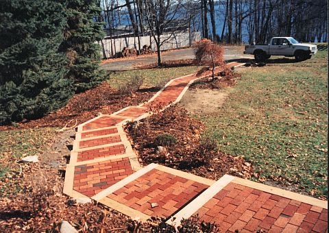 Landscape Timber Stairs   Google Search