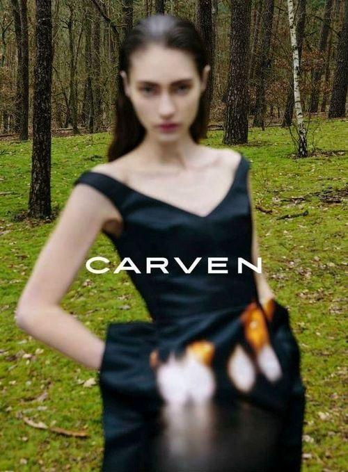 marine deleeuw by viviane sassen for carven
