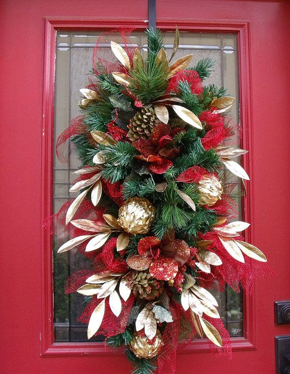 177 best images about christmas wreaths and arrangements for Amaryllis deco