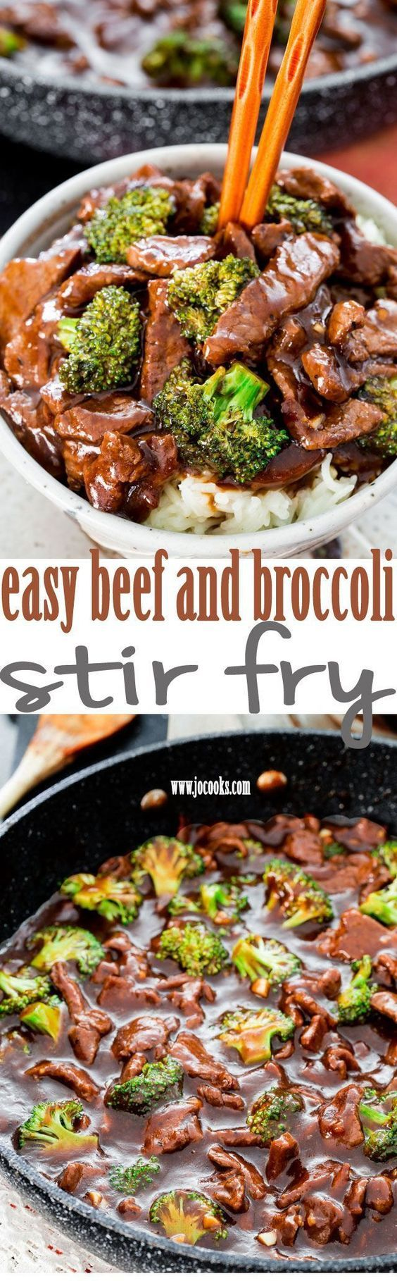 Easy Beef and Broccoli Stir Fry - forget take-out! In 15 minutes you can have this insanely delicious beef and broccoli stir fry! Way better than restaurant!