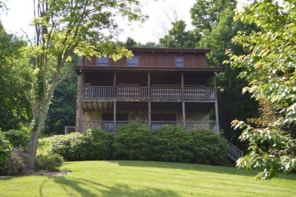 A Great Catch - Blue Ridge NC Mountain Cabin Rentals Blowing Rock NC Boone NC