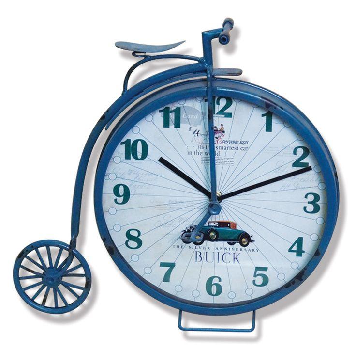 Granbi Eskitme Metal Saati  Ürün Bilgisi ;  Ürün maddesi : Metal ve gerçek cam kullanılmıştır Ebat : 33 cm x 39 cm Granbi Eskitme Metal Saati Şık ve hoş masa saati Mekanizması (motoru) : Akar saniye, saat sessiz çalışır Saat motoru 5 yıl garantilidir Masa Saati sağlam ve uzun ömürlüdür Kalem pil ile çalışmaktadır Gördüğünüz ürün orjinal paketinde gönderilmektedir. Sevdiklerinize hediye olarak gönderebilirsiniz