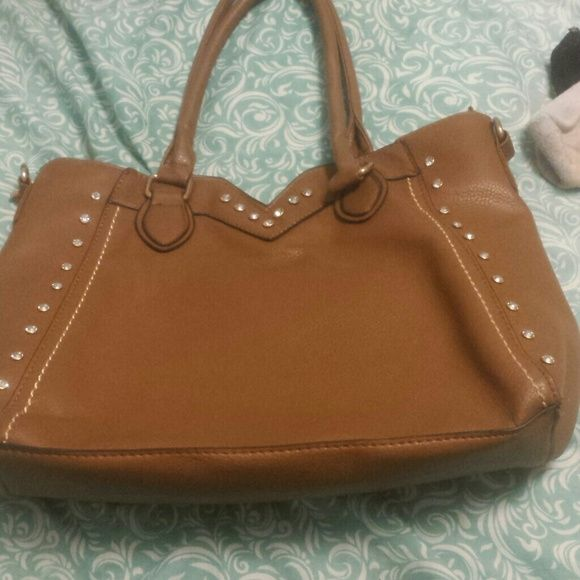 Purse Brown with diamonds lace lore  Bags Shoulder Bags