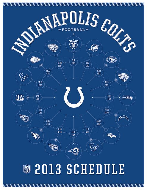 Indianapolis Colts 2013 Schedule