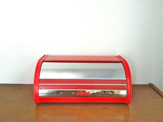 Mid Century Modern Bread Box!