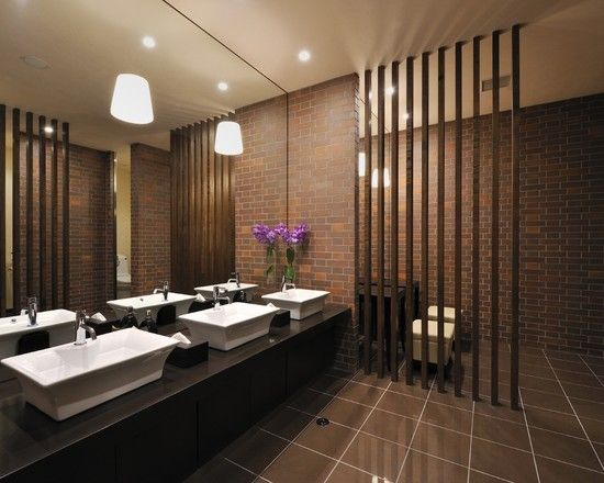 bathroom best restaurant design design pictures remodel decor and ideas page 2 interior design pinterest design design wood wall design and - Restaurant Bathroom Design