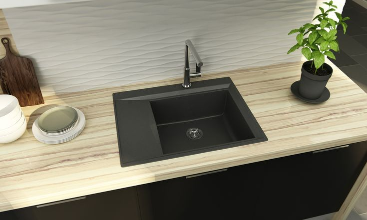 Kitchen sink Juno design by Mikhail Komarov