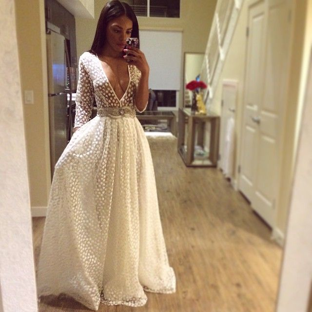 #Tbt because this is my favorite of all dresses! #Lurelly #Embroideredflowergown