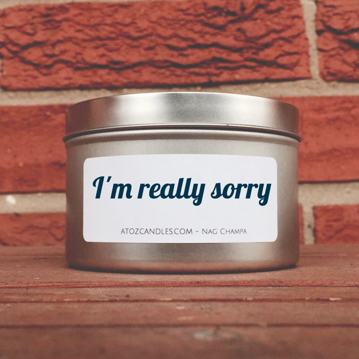 I'm Really Sorry, Apology Gift, I'm Sorry, Gift for Her, Gift for Him, Gift for Friend, Customized Candle, Personalized Candle, Soy Candles by AtoZCandles on Etsy https://www.etsy.com/listing/450666676/im-really-sorry-apology-gift-im-sorry