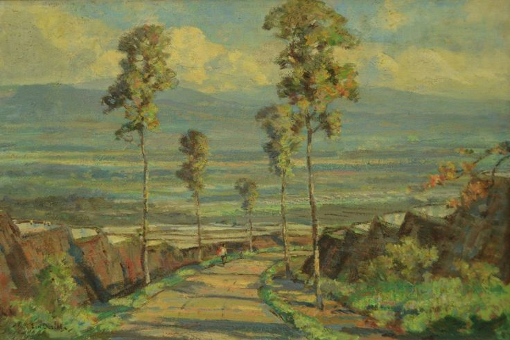 Ernest Dezentjé - Pemandangan Indonesia