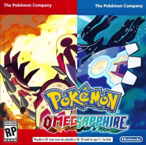 A new Pokémon adventure for Nintendo 3DS and 2DS. Omega Ruby and Alpha Sapphire are remakes of Pokémon Ruby and Sapphire, respectively.