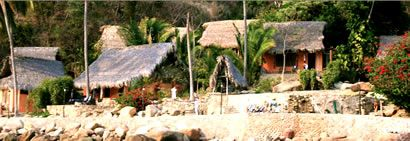 Hotel Lagunita Yelapa http://www.puertovallarta.net/what_to_do/yelapa.php #yelapa #jalisco #beaches #travel #mexico