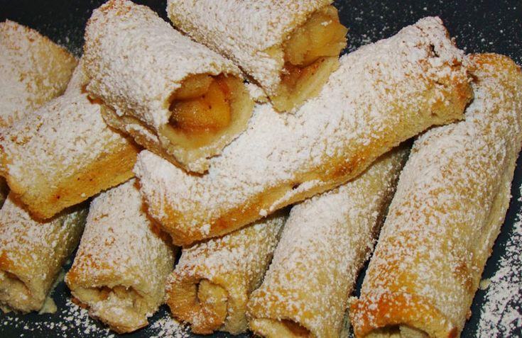Εύκολα μηλοπιτάκια με ψωμί του τοστ