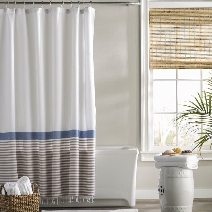 Bihari Cotton Shower Curtain With Images Blue Shower Curtains