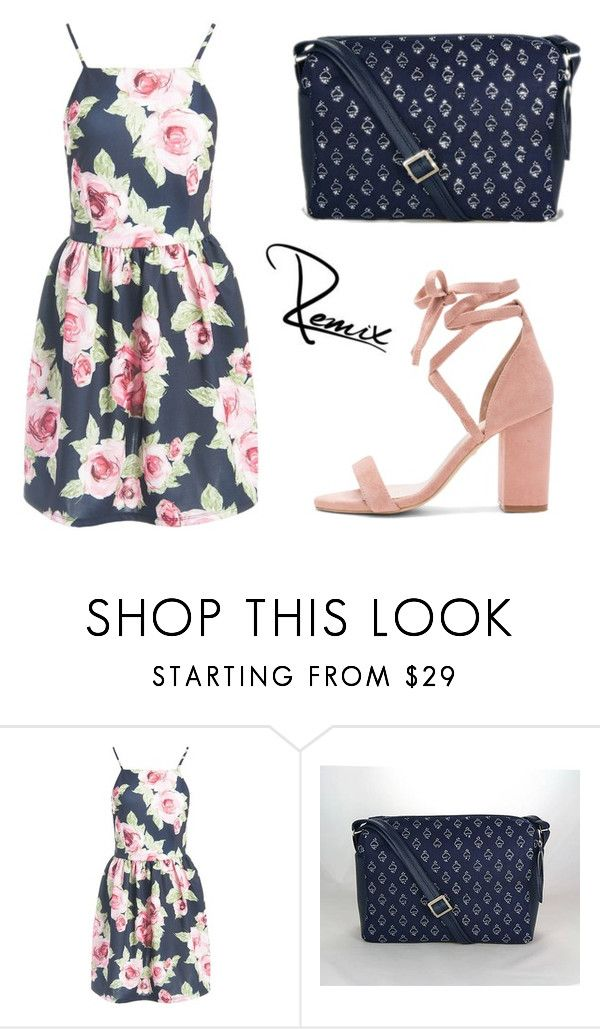 """""""Big vs.small"""" by aleva on Polyvore featuring Sans Souci and Raye"""