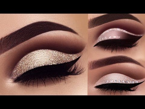 Double Cut Crease Classic Brown & Champagne Makeup Tutorial | Melissa Samways - YouTube