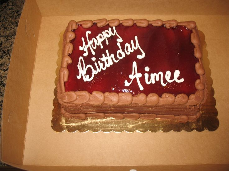 A vegan birthday cake from whole foods market yummy http
