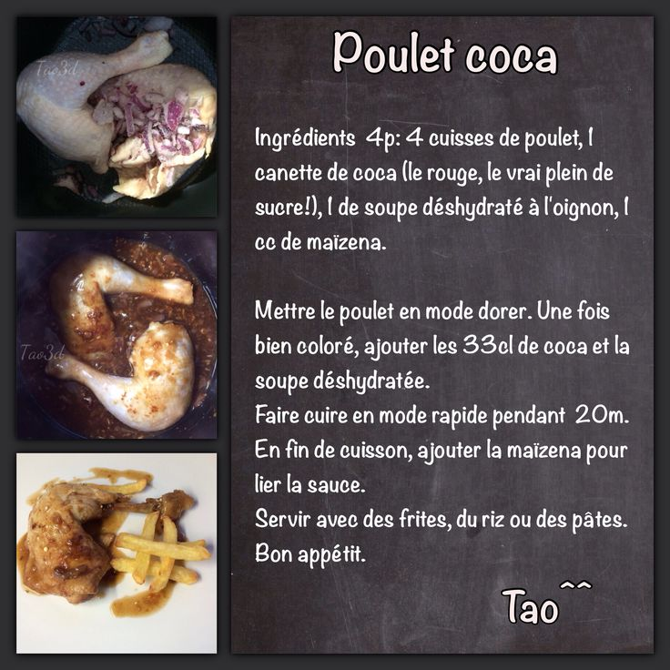 18 best recettes cookeo tao images on pinterest | people, menu and
