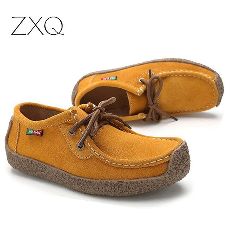 2016 herfst vrouwen casual schoenen cowhile lederen flats schoenen vrouwen oxfords voor vrouwen mocassins dames schoenen vrouwen bootschoenen