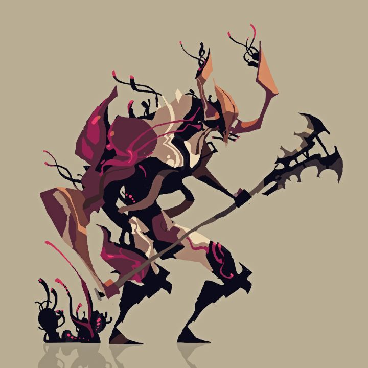 Digital Extremes iam8bit Partner for Warframe Art Prints  Digital Extremes and iam8bit have partnered up for a line of Warframe merchandise including several art prints and a 2X LP vinyl soundtrack.  Among the collection is a set of Patricio Betteo abstract art prints coming in a 6X6 inch giclee format featuring all 32 Warframes. They'll be available in blind bags of five that are randomly assorted as well as in a full set of 32. Check out an exclusive look at the Nidus print below:   Nidus…