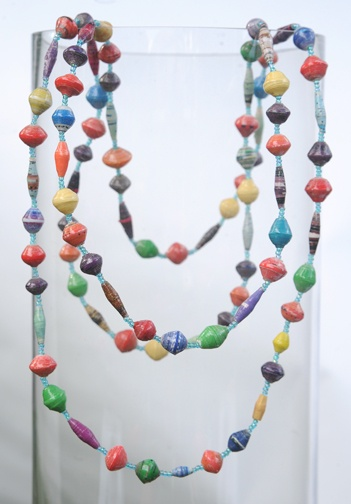 Extra-long Multicolored Necklace
