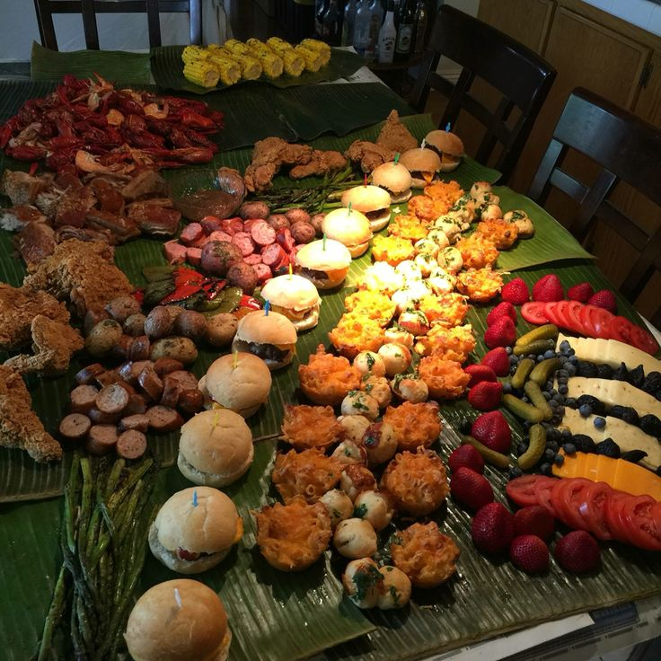 101 Best Images About Boodle Fight Party Ideas On Pinterest