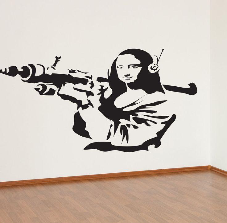 Wall Sticker Art best 25+ banksy wall stickers ideas on pinterest | hostel bristol