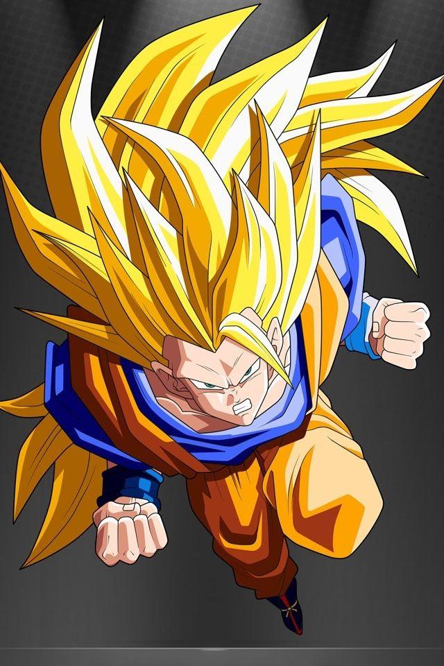 Goku SSJ3 iPhone Wallpaper Dragon Ball Pinterest