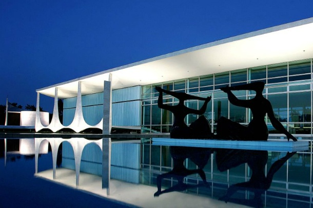 Oscar Niemeyer...Brasilia - Brazil, South America - I visited here while living in Brazil with my family.