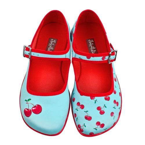 Hot Chocolate Design Womens Cherry Mary Jane Flat Multicoloured US Size: 6 Hot Chocolate Design,http://www.amazon.com/dp/B00CS4SQ7A/ref=cm_sw_r_pi_dp_bFTDtb0JT89QYH81