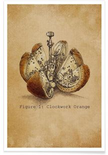 A Clockwork Orange - Eric Fan - Premium Poster