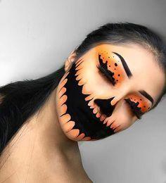 Gruselige Halloween Make-up Ideen für '18