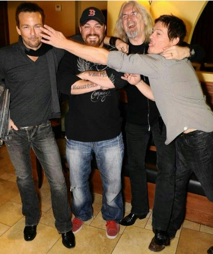 Norman Reedus, Billy Connolly, Troy Duffy, Sean Patrick Flanery