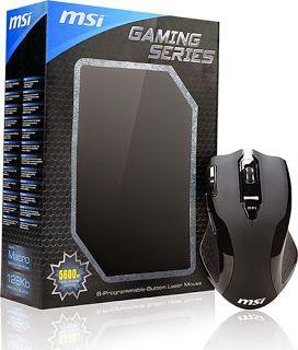 Avance en la tecnologia: El ratón para jugar de MSI se llama Gaming Series ...