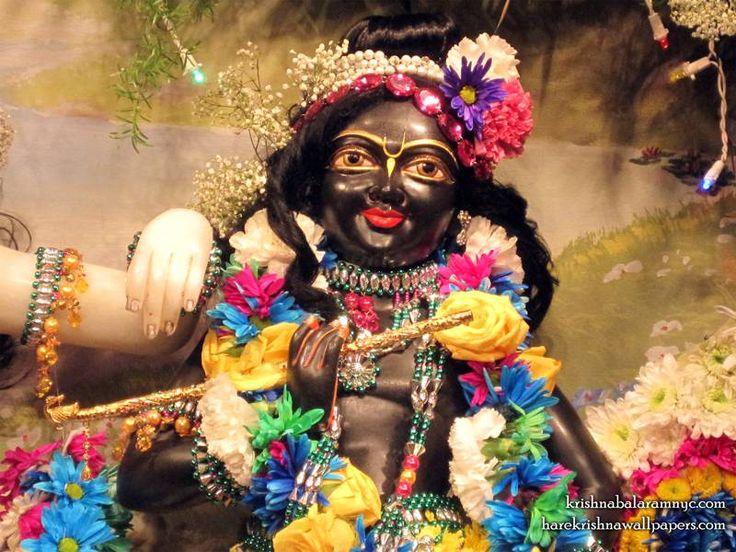 Sri Hari Close up Wallpaper