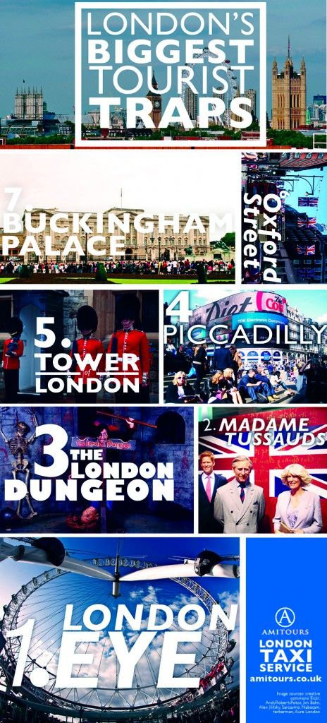 London's Tourist Traps… #London #tourism #travel  URL : http://amzn.to/2nuvkL8 Discount Code : DNZ5275C