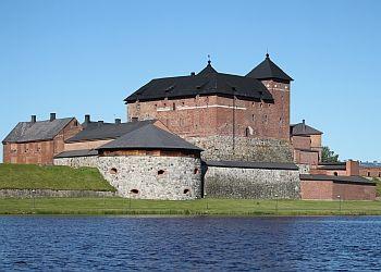 Hämeen linna Vanajaveden rannalla / Häme Castle, Finland