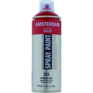 Talens Amsterdam Akrilik Sprey Boya 315 Pyrrole Red 400 ml.