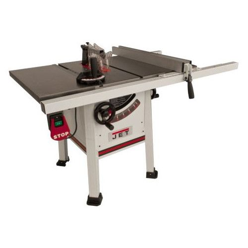 JET JPS-10TS 1-3/4 HP 10 in. Single Phase Left Tilt ProShop Table Saw with 30 in. ProShop Fence and Riving Knife