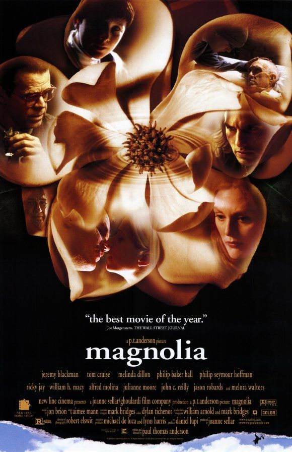 ~Magnolia~  I am not a great fan of Tom Cruise but I think in this film he played his best role ever.