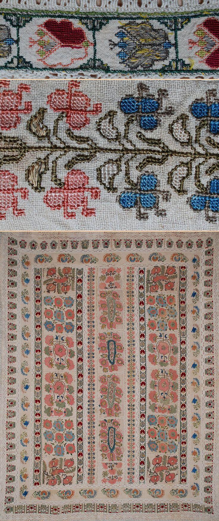 ottoman embroidery | Antique Textiles Ottoman Embroidery