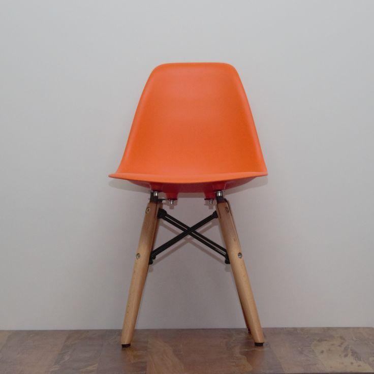 Replica Kids Eames Chair Orange Image 0