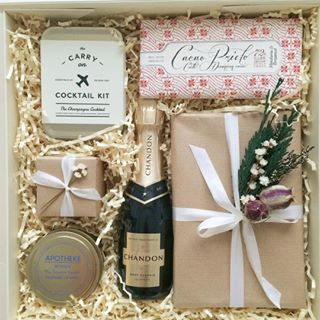 Gift Box for bridesmaid. Bridesmaid Proposal. Bridal Party Gift Box from Loved and Found.
