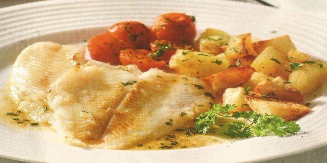 Una deliciosa Receta de Lenguado en Salsa de Mostaza muy sencilla y rápida de preparar.