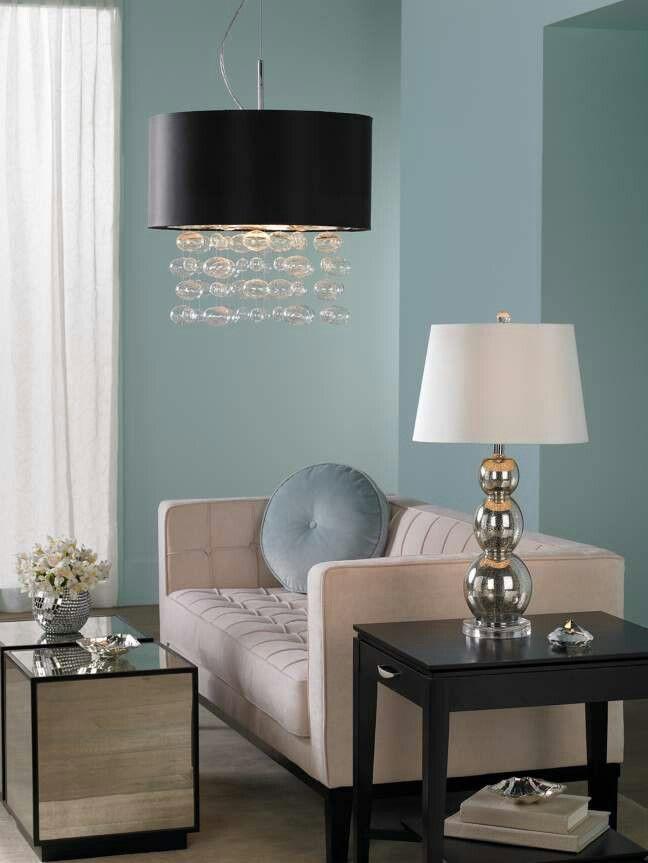 Duck egg blue walls possible colour scheme