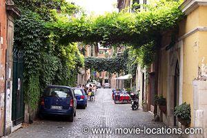 Roman Holiday location: Via Margutta, Rome